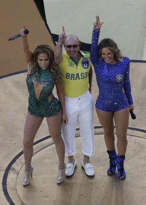 Jennifer Lopez and Claudia Leitte - Brazil 2014 -55