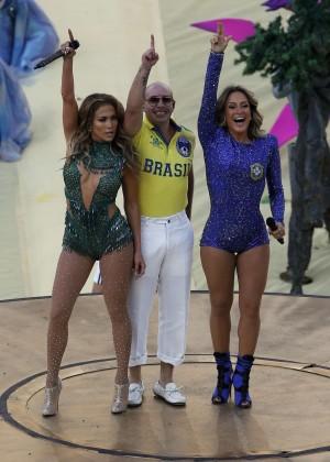 Jennifer Lopez and Claudia Leitte - Brazil 2014 -64