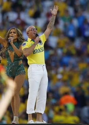 Jennifer Lopez and Claudia Leitte - Brazil 2014 -70