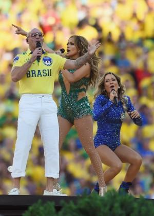 Jennifer Lopez and Claudia Leitte - Brazil 2014 -73