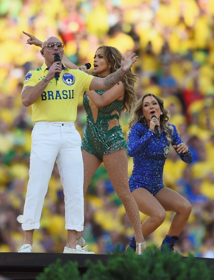 Jennifer Lopez Performance at the Opening Ceremony Of The 2014 FIFA World Cup Brazil