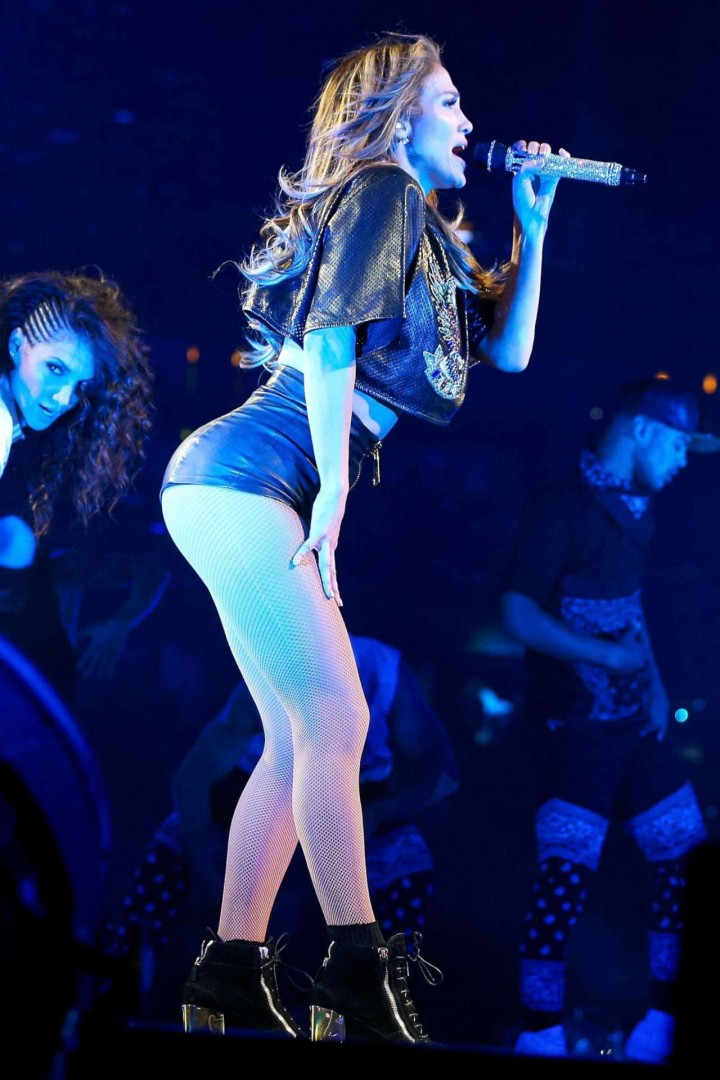 Jennifer Lopez Performing at Power 106 FM's Powerhouse in Anaheim