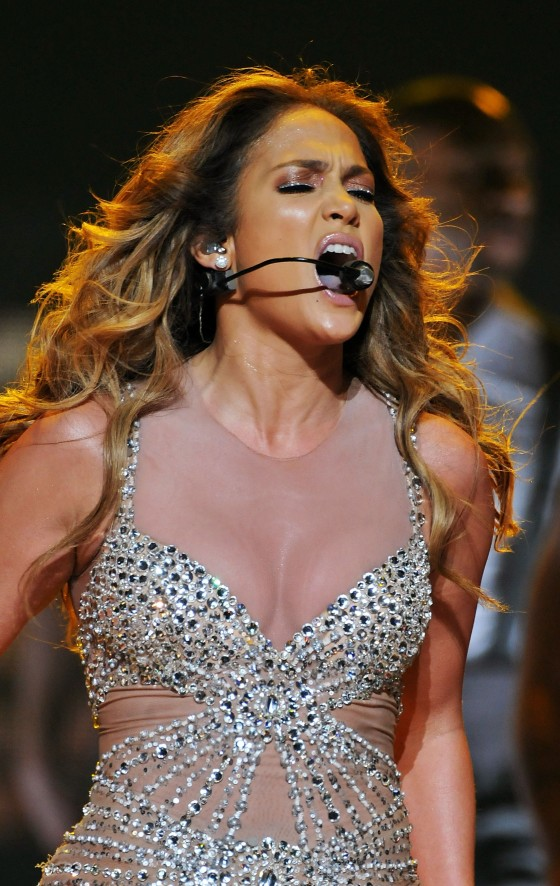 Jennifer Lopez Concert at the O2 Arena in London