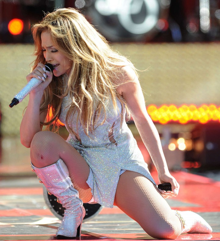 Jennifer Lopez Performs Live On Good Morning America -35
