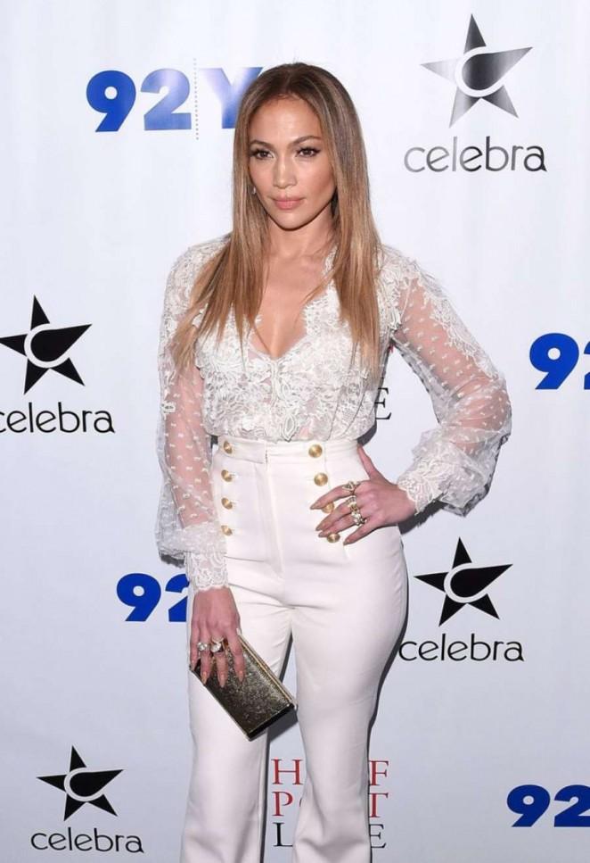 "Jennifer Lopez - Promoting her book ""True Love"" in New York"