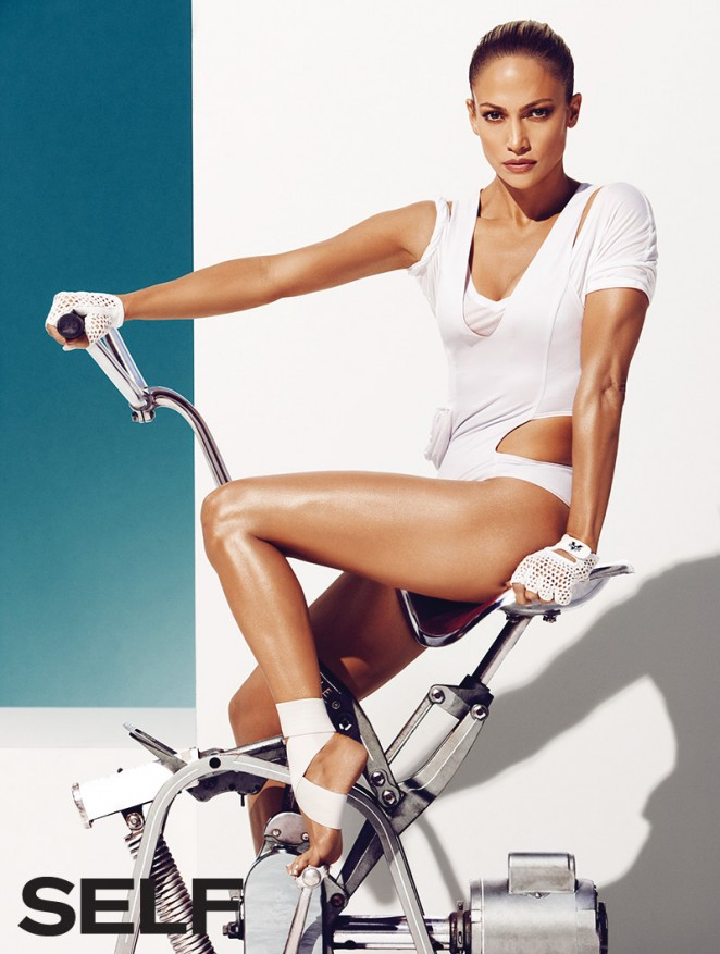 Jennifer Lopez – Self Magazine (January 2015) adds