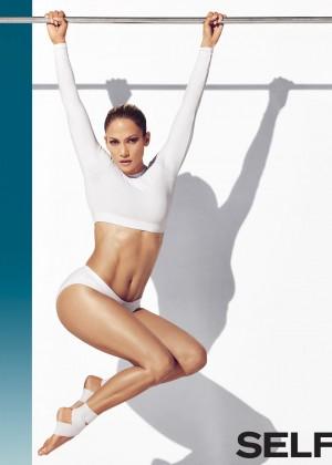 Jennifer Lopez - Self Magazine (January 2015)