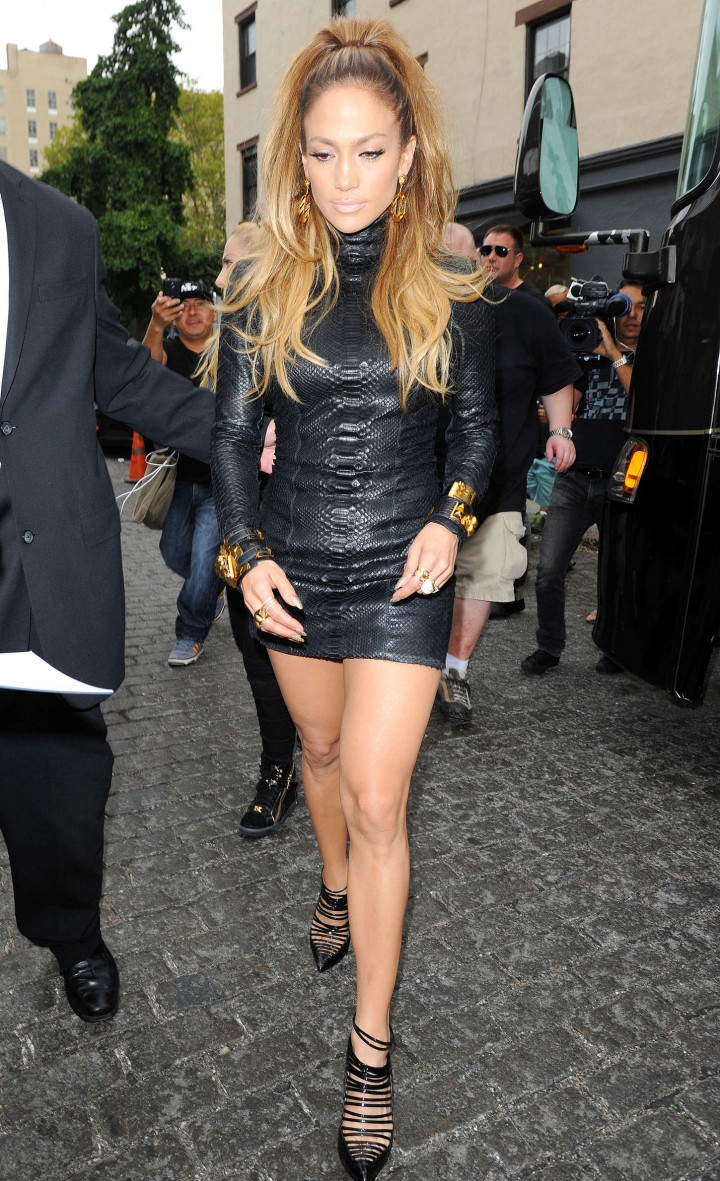 Jennifer Lopez – Shooting a video music in New York