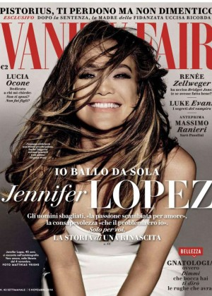 Jennifer Lopez - Vanity Fair Italy Magazine (November 2014)