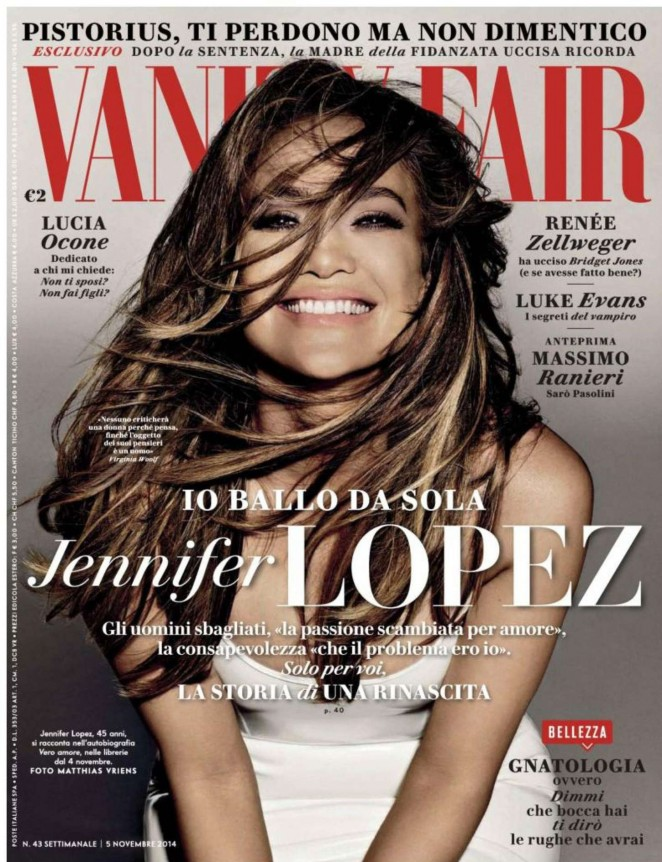 Jennifer Lopez – Vanity Fair Italy (November 2014)