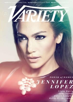 Jennifer Lopez - Variety Power Of Women Magazine Cover (October 2014)