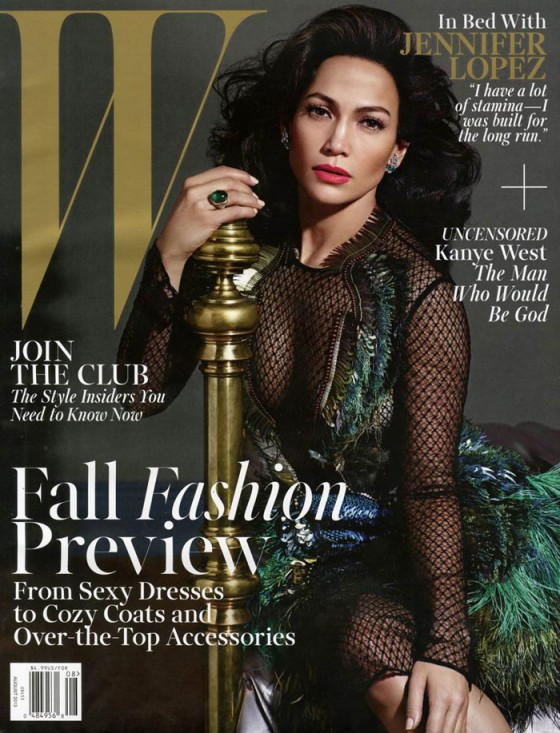 Jennifer Lopez - W Magazine Cover (August 2013) -01