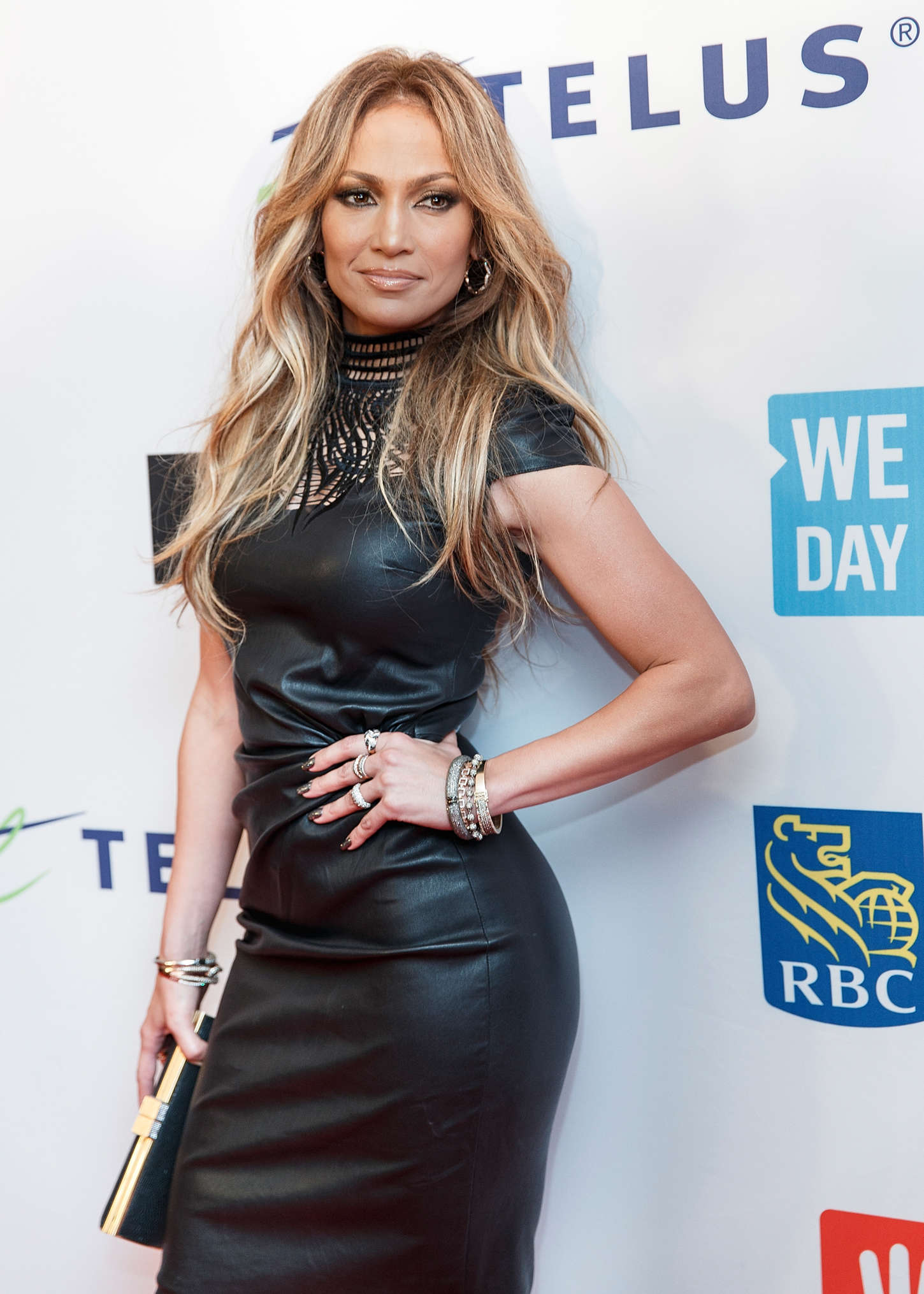 Jennifer Lopez at 'We Day' 2014 in Vancouver