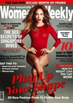 Jennifer Lopez - Womens Weekly Singapore Magazine (October 2014)