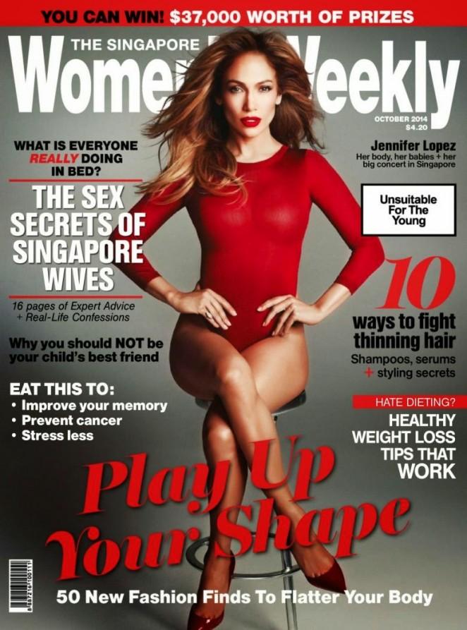 Jennifer Lopez – Womens Weekly Singapore Magazine (October 2014)