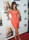 Jennifer Love Hewitt In Hot Orange Herve Leger dress-07
