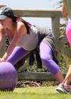 Jennifer Love Hewitt - doing yoga in Santa Monica -02