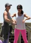 Jennifer Love Hewitt - doing yoga in Santa Monica -04