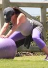 Jennifer Love Hewitt - doing yoga in Santa Monica -07