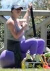 Jennifer Love Hewitt - doing yoga in Santa Monica -13
