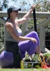 Jennifer Love Hewitt - doing yoga in Santa Monica -14