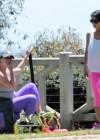 Jennifer Love Hewitt - doing yoga in Santa Monica -16