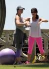 Jennifer Love Hewitt - doing yoga in Santa Monica -22
