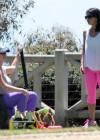 Jennifer Love Hewitt - doing yoga in Santa Monica -25