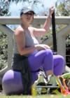 Jennifer Love Hewitt - doing yoga in Santa Monica -27