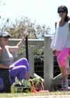 Jennifer Love Hewitt - doing yoga in Santa Monica -28