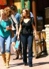 Jennifer Love Hewitt - filming The Client List in Los Angeles-08