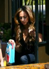 Jennifer Love Hewitt - filming The Client List in Los Angeles-11