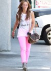 Jennifer Love Hewitt In a pink pants in LA