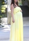 Jennifer Love Hewitt in Yellow Dress in LA -03