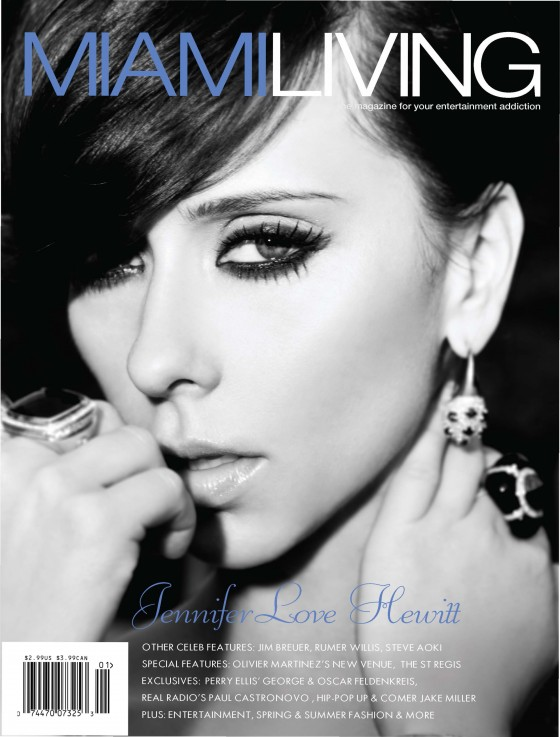 Jennifer Love Hewitt in Miami Living Magazine HQ