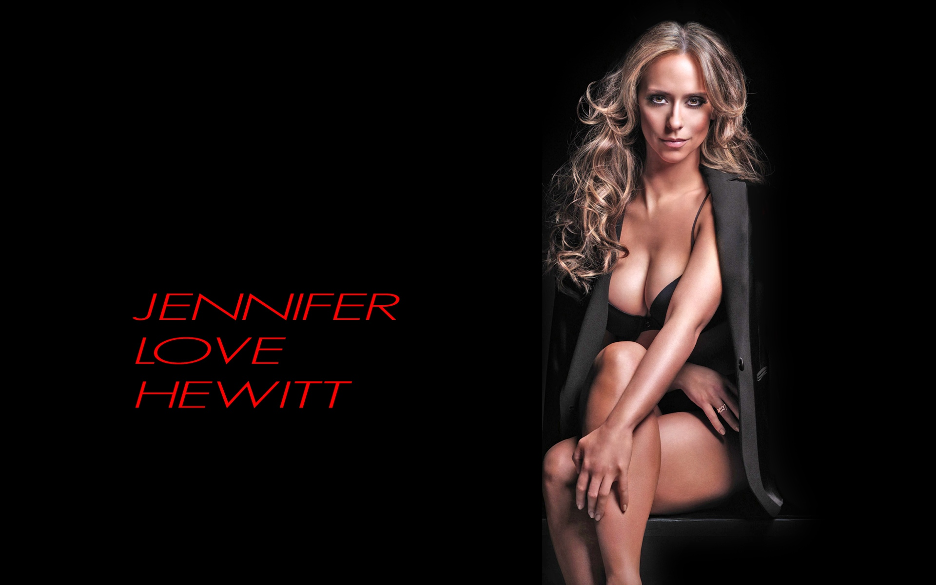 New Love Hot Wallpaper : Pin Jennifer Love Hewitt Hot And Sexy Wallpapers 1600 1920 04 cake on Pinterest