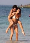 Jennifer Metcalfe - Wearing a bikini on the beach in Dubai -02
