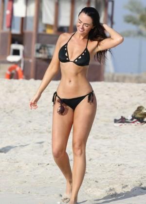 Jennifer Metcalfe Bikini Photos: 2014 in Dubai -01