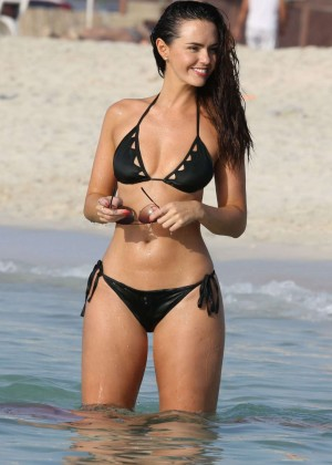 Jennifer Metcalfe Bikini Photos: 2014 in Dubai -04