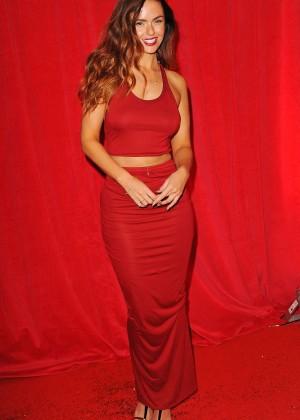 Jennifer Metcalfe - British Soap Awards 2014 in London -08