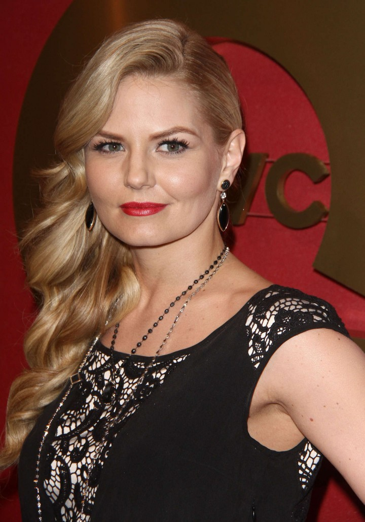 Jennifer Morrison: 2014 QVC Red Carpet Style Event -02