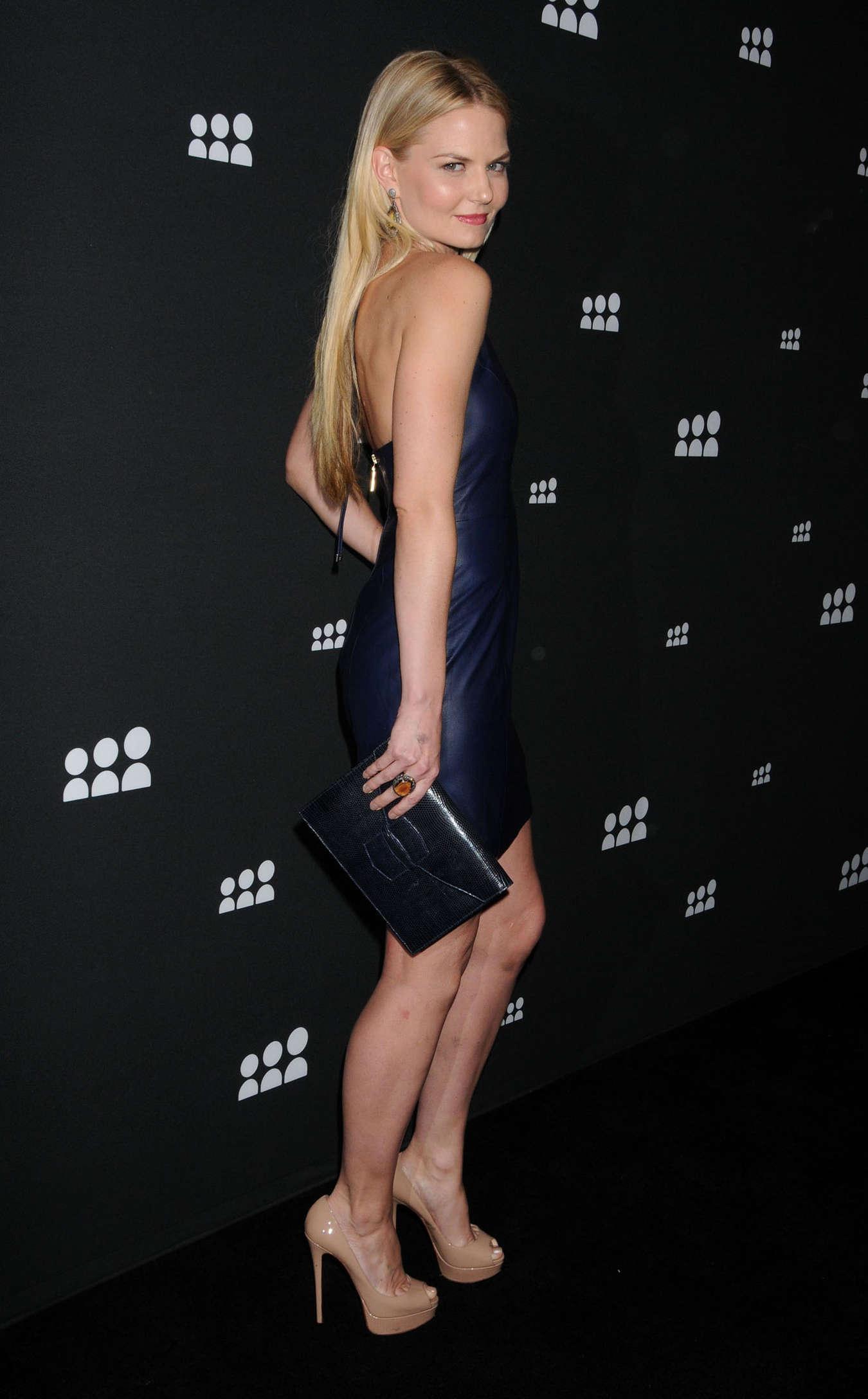 Taxi New York >> Jennifer Morrison Hot in tight dress at 2013 Myspace Event -08 | GotCeleb