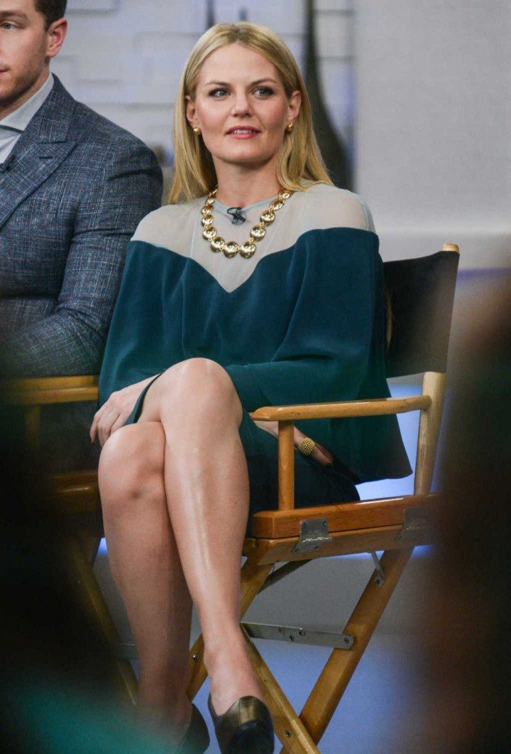 Jennifer Morrison on Good Morning America -02