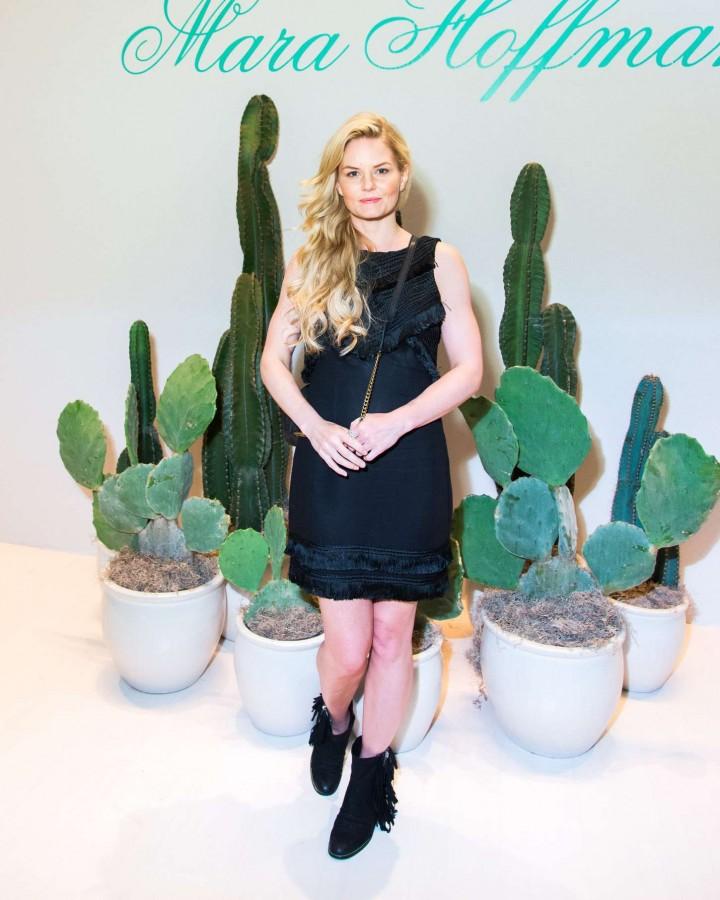 Jennifer Morrison - Mara Hoffman S/S 2015 Fashion Show in New York