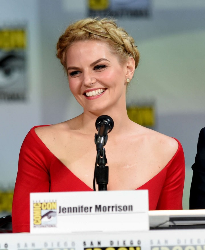 Jennifer Morrison - Once Upon A Time Panel at Comic-Con 2014