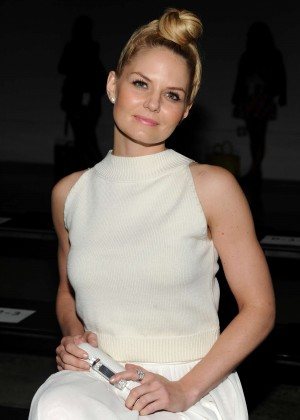 Jennifer Morrison - Sally LaPointe Fashion Show in NY