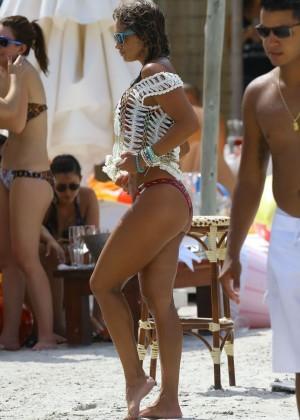 Jennifer Nicole Lee Hot Bikini: Miami 2014 -02