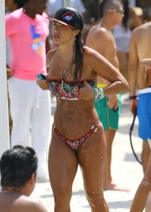 Jennifer Nicole Lee Hot Bikini: Miami 2014 -07
