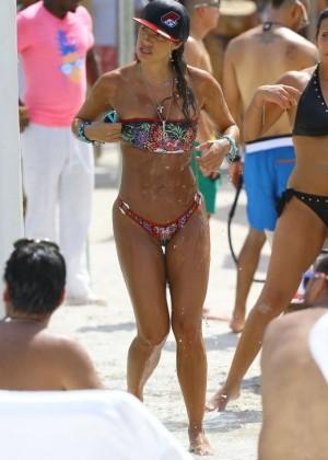 Jennifer Nicole Lee Hot Bikini: Miami 2014 -15