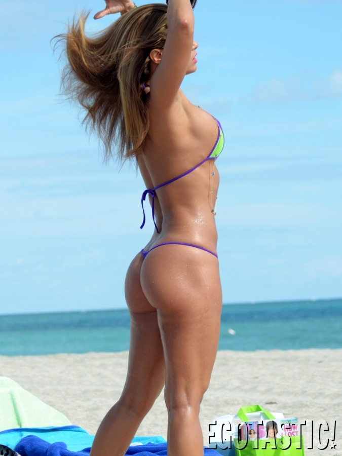 Celebrity Thong Bikini 36